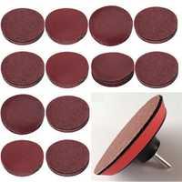 10pcs 3 Inch 40-2000 Grit Sander Disc Sanding Paper Abrasive Tool Sandpaper