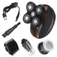 4 IN1 5 Head Men Cordless Electric Shaver Razor Bald Clipper