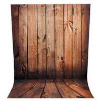 2.1 x 1.5m Wood Wall Floor Theme Scene Vinyl Studio Photography Backdrop Photo Background