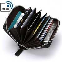 Men Blocking Wallet Coin Bag Protective Wallet