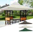Meilleurs prix 120x120inch Garden Pavilion Terrace Top Canopy Cover Garden Shade Gazebo Patio Tent Sunshade Accessories Replacement
