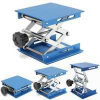 4inch Aluminum Lifting Platforms Stand Rack Scissor Lab-Lifting Oxide Lab Jack Stand Scissor Utility Tools 30KG Max Load