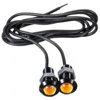 Car 3W 18MM LED Eagle Eye Daytime Running DRL Tail Backup Light