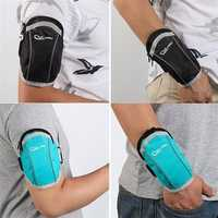 Chiluhu 0002 Waterproof Arm Bag Outdooors Sports Wrist Bag Breathable Armband for under 6
