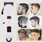 Bon prix Surker Professional Cordless Hair Clipper Barber Hair Cutting Machine LED LCD Display Electric Hair Trimmer for Men Adult Child