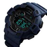 SKMEI 1472 Week Display Alarm Cowboy Men Digital Watch