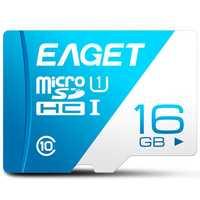 EAGET T1 Micro SD Card Memory Card 16GB/32GB/64GB/128GB Class 10 TF Card