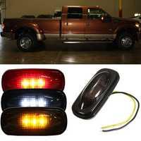 For Ford F350 F450 LED Fender Bed Side Marker Lights Lamps Smoke Lens