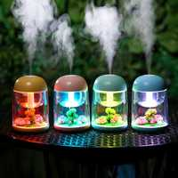 USB Micro Landscape Humidifier Air Purifier