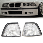 Acheter au meilleur prix Corner Lights Side Lights For BMW E36 3-Series 2DR Coupe/Convertible Clear Lens