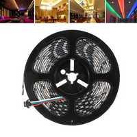 LUSTREON 1M 2M 3M 4M 5M IP65 SMD5050 IC UCS1903 Programmable Magic Color LED Strip Light DC12V