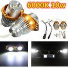 Recommandé 2 x 6000K White 10w Angel Eyes LED Marker Light Lamp Bulbs for BMW E90 E91