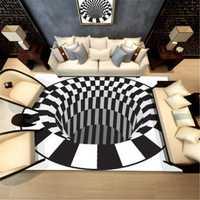 3D Style Rugs Modern Carpet Floor Mat Living Room Non-slip Carpets Home Decorations