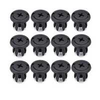 12PCS Plastic Auto Splash Guard Liner Rivets Car Fastener Clip Retainer Fits For Mini Cooper