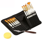 Meilleurs prix Zhuting 15 Pearl White Nylon Practical Writing Brush Set