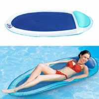 Swimming Inflatable Float Summer Floating Water Hammock Pool Lounge Bed Chair