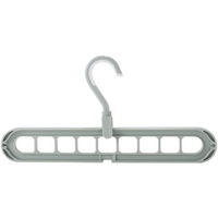 Multi-functional Cloth Hanger Balcony Wardrobe Store Rotating Non-slip Drying Racks