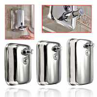 Wall-mounted Soap Dispenser Stainless Steel Liquid Soap Box