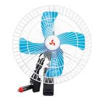 12V/24V Car Oscillating Fan Camping Travel Portable Clip Cooling Conditioner Fan