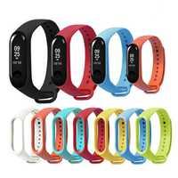Bakeey Replacement Silicone Sports Soft Wrist Strap Bracelet Wristband for XIAOMI Mi Band 3/4