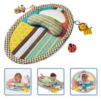 Infant Baby Tummy Time Musical Mat Water Resistant Infant Bed Kids Developmental Toy