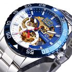 Acheter FORSINING TM366G Fashion Men Automatic Watch Business Stainless Steel Strap Mechanical Watch