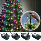 Les plus populaires 3 Modes Colorful LED Christmas Tree Fiber Fairy Night Holiday Light Bulb Lamp Decoration AC110-240V