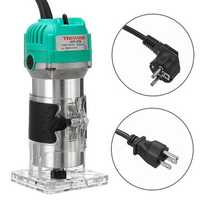 2200W Electric Hand Trimmer 1/4 Inch Corded Wood Laminate Palm Router 30000RMP