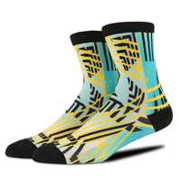Men's Vintage Stripes Cotton Warm Long Tube Socks