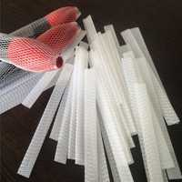 10PCS Cosmetic Brushes Pen Guard Sheath Mesh Protectors Cover