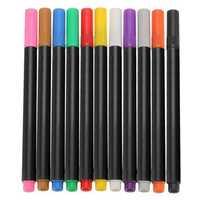 1pcs Fabric Marker Pen Permanent Colors For DIY Textile Clothes T-Shirt Shoes