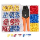 Promotion 900Pcs Electrical Wire Connectors Terminals with Crimping Plier Assorted Set