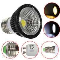 Dimmable E27 White/Warm White LED 7W COB Spotlightt Bulb 220V