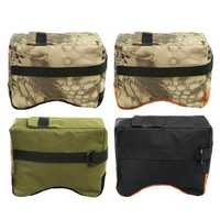 Front Rear Bag Shooting Sand Bag Gun Photography Bench Rest Stand Holder Hunting Accessories