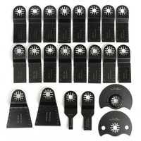 22pcs Oscillating Multi Tool Saw Blade Kit for Multimaster Fein Bosch Makita