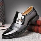 Les plus populaires Men Comfortable Leather Business Lace Up Formal Shoes