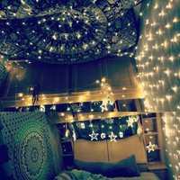 2M*3M 3M*3M Waterproof Mesh Net LED Fairy String Light For Wedding Christmas EU Plug