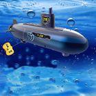 Prix de gros RC Mini Submarine 6 Channels Remote Control Under Water Ship Model Kids Toy