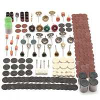 340pcs Rotary Tool Accessory Set Fits For Dremel Grinding Sanding Polishing Tool