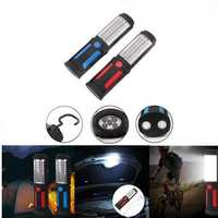 Portable 41 LED USB Rechargeable Magnetic Flashlight Camping Lamp for Emergency Roadside Car Repair