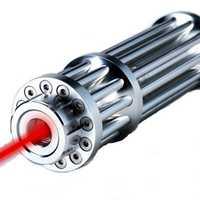 U'King ZQ-12H 650nm Red Light Power Beam Burning Laser Pointer Pen Single