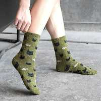 Warm Soft Middle Tube Socks