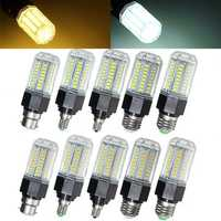 Non-Dimmable E27 E26 E12 E14 B22 9W 5730 SMD LED Corn Light Bulb Lamp AC110-265V