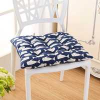 40 x 40cm Soft Thicken Cushion Buttocks Chair Cushion Linen Outdoor Square Cotton Seat Pad Decoration Home Office