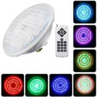 30W Par56 RGB LED Underwater Waterproof Swimming Pool Light IP68 Remote Control Atmostphere Light