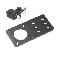 Machfit Aluminum Nema 17 Stepper Motor Mount Plate for CNC Machine V-slot Aluminum Extrusions Profile CNC Parts