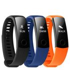 Les plus populaires Huawei Honor Band 3 Real-time HR Monitor 5ATM Waterproof 30 Days Standby Fitness Smart Watch Band