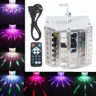 Meilleurs prix 18W LED RGB Sound Actived DMX512 Strobe Effect Stage Light DJ Disco Bar Party