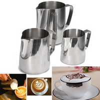 Coffee Cappuccino Milk Tea Frothing Jug Garland Cup Latte Jug Craft