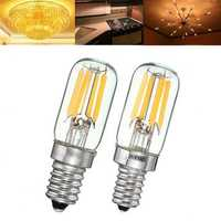 Dimmable Vintage 2W E12 E14 T20 Refrigerator LED COB Filament Bulb Warm White